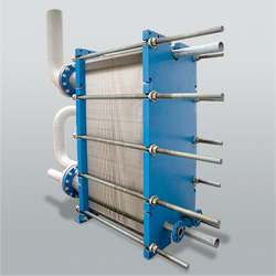 Trocador de calor industrial de placas