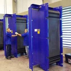 Manutenção trocador de calor a placas