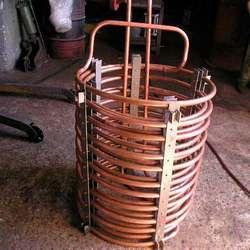 trocador de calor de placa e brasado
